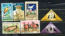 St. Vincent Nice Stamps Lot  2