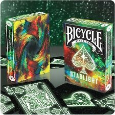 STARLIGHT BICYCLE DECK OF PLAYING CARDS BY COLLECTABLE MAGIC TRICKS POKER SIZE
