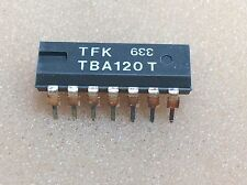 2 pcs. TBA120T   TFK TV, Sound IF  DIP14  NOS