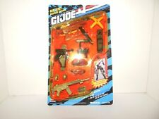 "GI Joe 12"" Hall of Fame Mission Gear RED BERET Weapons Arsenal Set MOC!"