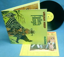 LP URIAH HEEP - FALLEN ANGEL / 1st PRESS. A-1 / INCL. RARE CALENDAR POSTER