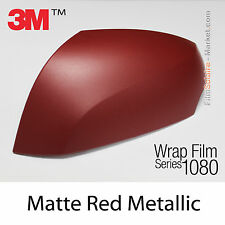 20x30cm FILM Matte Red Metallic 3M 1080 M203 Vinyle COVERING New Series Wrapping