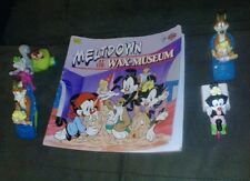 animaniacs toy and book lot slappy squirel, dot, mindy, and buttons vintage cool