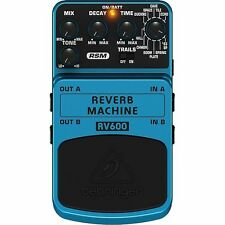 Behringer RV600 Reverb Machine Ultimate Reverb Modeling Effects Pedal