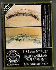 MODEL VICTORIA 4027 - ITALIAN ANTI-TANK EMPLACEMENT - RESIN KIT 1/35 - NUOVO