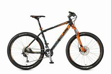 KTM MTB Ultra Fun 27 schwarz matt orange hellblau 27 Gang RH 48 2017
