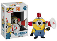 Funko Pop Movies Despicable Me 2: Fire Alarm Minion Vinyl Action Figure Toy 4284