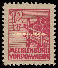 EBS Germany 1946 Soviet Zone Mecklenburg-Vorpommern Michel 36y MNH**