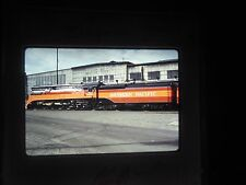 slide SP DEPOT Eugene Oregon Railroad Train Station Yard Car RR southern pacific