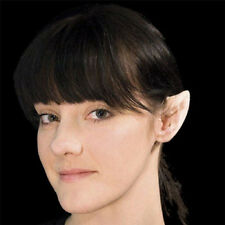 Small Latex Prosthetic Pointed Ear Tips Fairy Elf Hobbit Spock Costume Accessory
