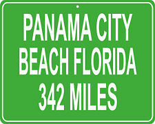 Panama City Beach, Florida Spring Break mileage sign - distance to your house