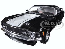 1970 FORD MUSTANG MACH 1 428 BLACK 1/24 DIECAST MODEL CAR BY M2 40300-53C