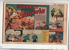 Récit complet collection à 8 f. Coudray contre l'Araignée. 1945. Raoul et Gaston