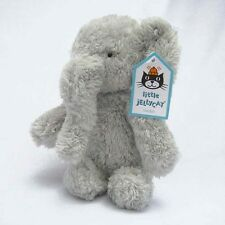 Jellycat NEW Small Nugget Grey Baby Elephant Plush Soft Toy (Retired & V/Rare)
