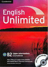 Cambridge ENGLISH UNLIMITED UPPER-INTERMEDIATE B2 Coursebook with DVD-ROM @NEW@