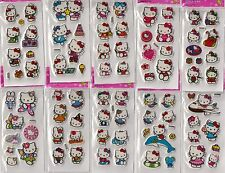 Hello Kitty 10 sheets of stickers gifts for girls party loot bags fillers
