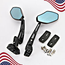 Black Rearview Side Mirrors Suzuki GSXR GSX-R 600 750 1000 1100 1300 Hayabusa