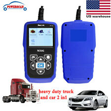 US NL102 truck & Car OBD2 Auto Diagnostic Heavy Duty Car Code Scanner Live Data