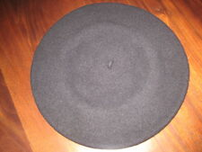 USA Basque Beret for Women 100% Wool Black & Red Made in Czech Rep NEW