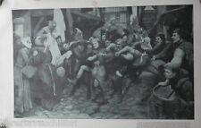 IL GIUOCO DEL CALCIO Stampa tratta da Scena Illustrata 11 12 Giugno 1930 Gioco