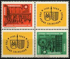 East Germany DDR 1964 SG#E733-4 Leipzig Spring Fair MNH Block Cat £23 #A82037