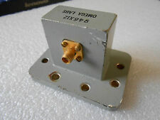 OMEGA LABS 946X12 WAVEGUIDE CPR 137 CPR137 TO SMA TRANSITION ADAPTER