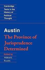 Cambridge Texts in the History of Political Thought: Austin : The Province of...