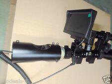 Day Night Use Rifle Scope Add On Night Vision Scope Device with Screen IR Light