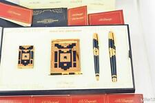"ST DUPONT ""NUEVO MUNDO"" 4 PCS COLLECTOR SET: 2 LIGHTERS, FOUNTAIN + BALL PENS"
