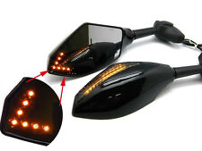 LED TURN SIGNAL INTEGRATED MIRROR FOR KAWASAKI NINJA 250 500 EX R1 R6 600R ZX6R