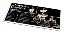 Lego Pirates of the Caribbean UCS Sticker for Silent Mary 71042