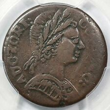 1785 3.1-A.3 R-4 Pcgs Vf 35 Bust Right Connecticut Colonial Copper Coin