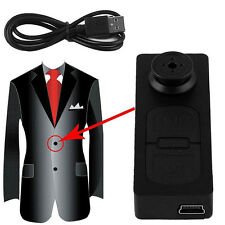 Mini S918 Button Pinhole Spy Camera Hidden DVR Hidden Video Recorder SP2G