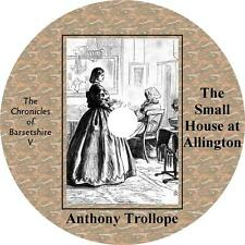 Small House at Allington, Anthony Trollope Audiobook Fiction English 22 Audio CD