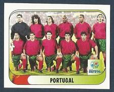 MERLIN-EURO 96- #285-PORTUGAL TEAM PHOTO