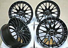 "19"" CRUIZE 170 MATT BLACK CROSS SPOKE CONCAVE 5X108 19 INCH ALLOY WHEELS"