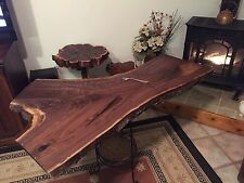 "Black Walnut ""Y"" Cut / XL Slab Natural Edge / DIY  Live Edge Lumber 66 Y J&R"