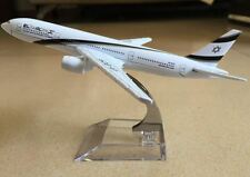 Israel Boeing 777 EL-AL Airlines Metal Diecast Model.  Messianic Jewish, Yeshua