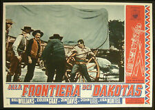CINEMA-fotobusta ALLA FRONTIERA DEI DAKOTAS williams,gray,davis,litel,NEWFIELD