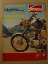+ Der Deutsche Straßenverkehr 9/1972 Test Zeltanhänger CT-6 Neue MZ TS Modelle