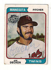 2015 TOPPS ORIGIANL JOE DECKER 1975 BUY BACK (JUST CHECK THIS CARD!!!!!)-WOW!!