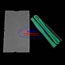 FREE SHIP for PSP 3000 Series Original LCD Main Front Cover Glass + Tool ZVGS072