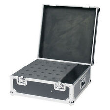 DAP AUDIO PROFESSIONALE HEAVY DUTY 25 MICROFONO FLIGHTCASE DJ SET KARAOKE Palco Band