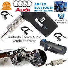 "For VW Audi A3 A4 A5 Q5 Q7 **BLUETOOTH"""" WIRELESS  AMI MMI Interface 3.5mm AUX"