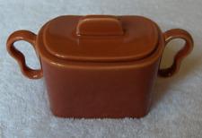Franciscan California Made in USA Tiempo Copper covered sugar-NR