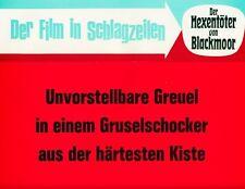 Der Hexentöter von Blackmoor ORIGINAL Aushangfoto Christopher Lee / Maria Schell