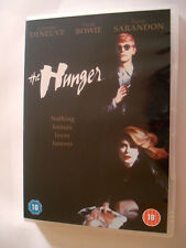 DVD THE HUNGER LES PREDATEURS BOWIE DENEUVE VERSION FRANCAISE + VOST
