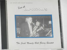 JACK NIMITZ & BILL BERRY -Live At Capozzoli's- CD