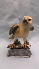 resin eagle statue trophy award painted rock style base personalized