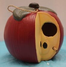 Old Time Pottery APPLE BIRD HOUSE - Very Cute